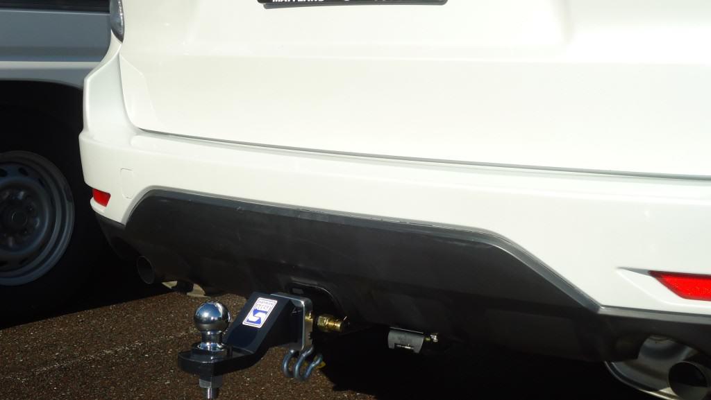 Install closeup of Subaru Forrester