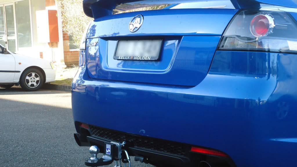 Install closeup of Holden VE Commodore