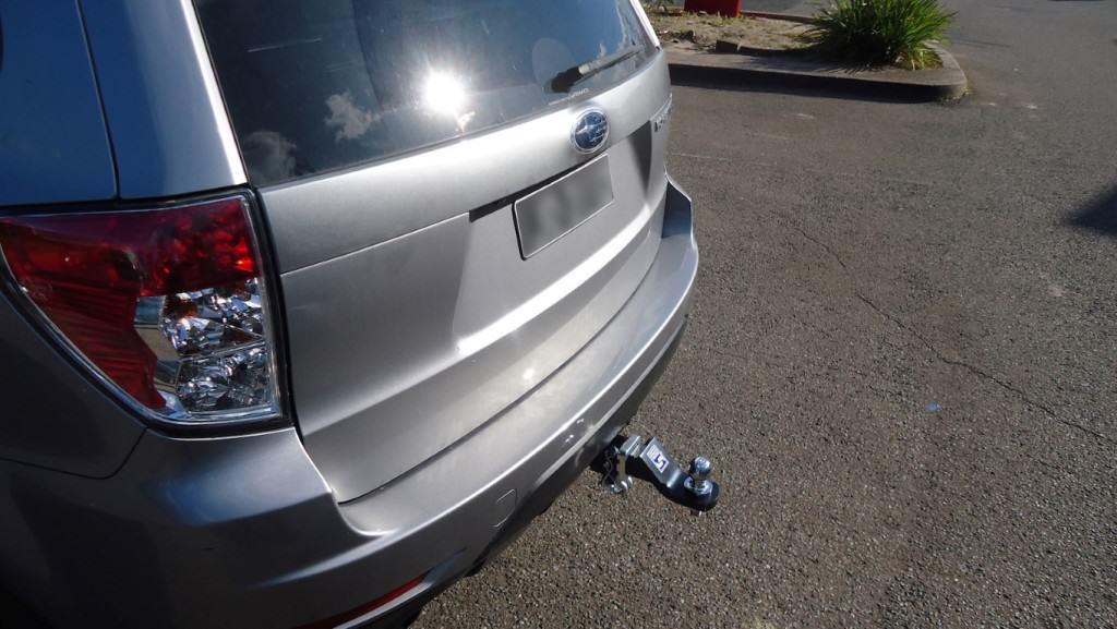 Install closeup of Subaru Impreza