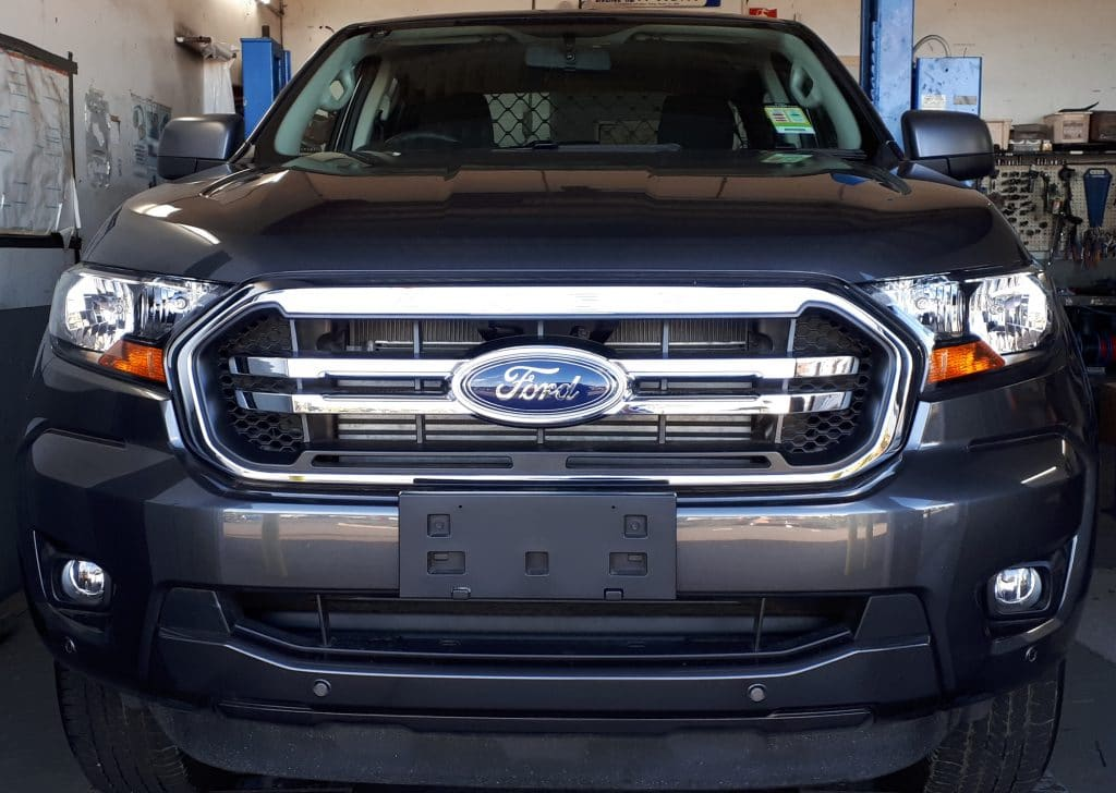 Install closeup of Ford Ranger