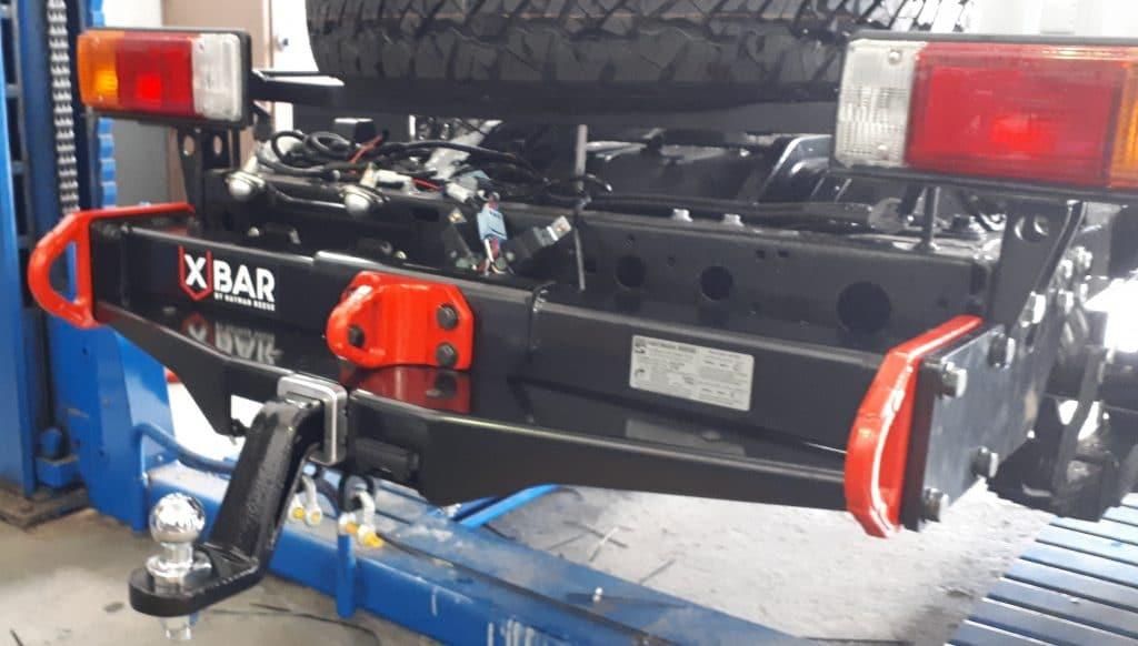 Towbar kit of Toyota Landcruiser 79