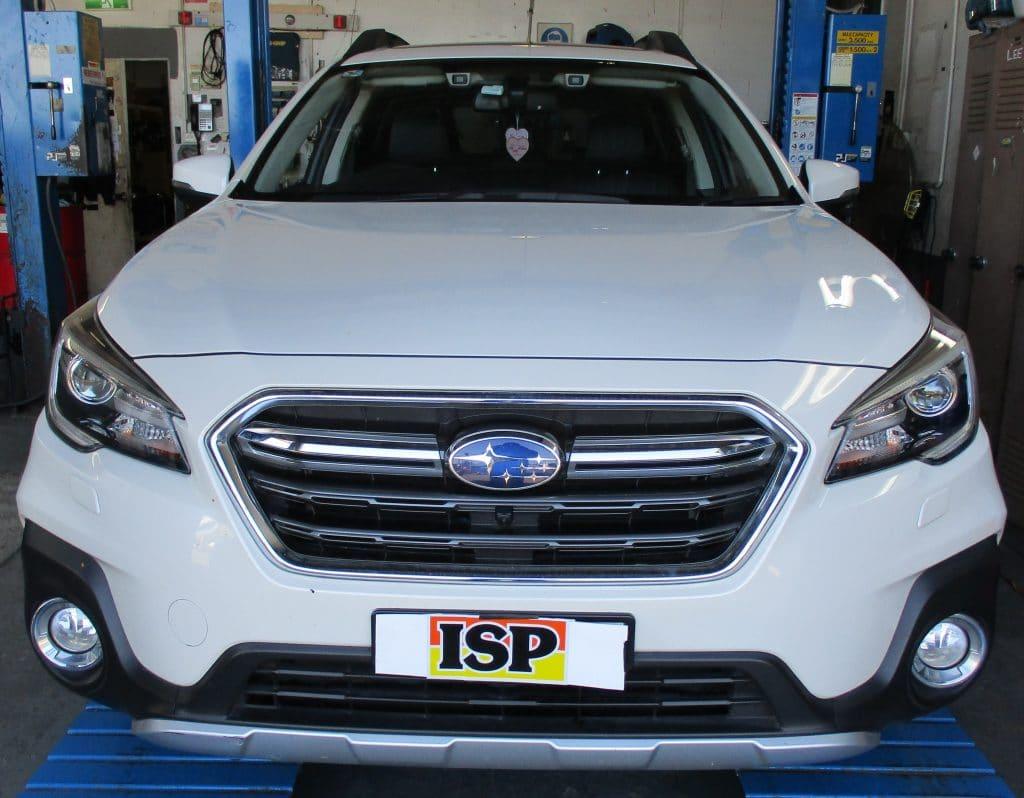 Brake installation of Subaru Outback/Liberty
